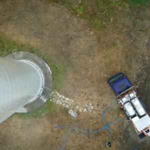 oil change in turbine
