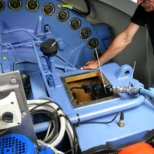wind turbine gearbox oil change